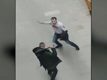 Violenta pelea en El Raval, Barcelona