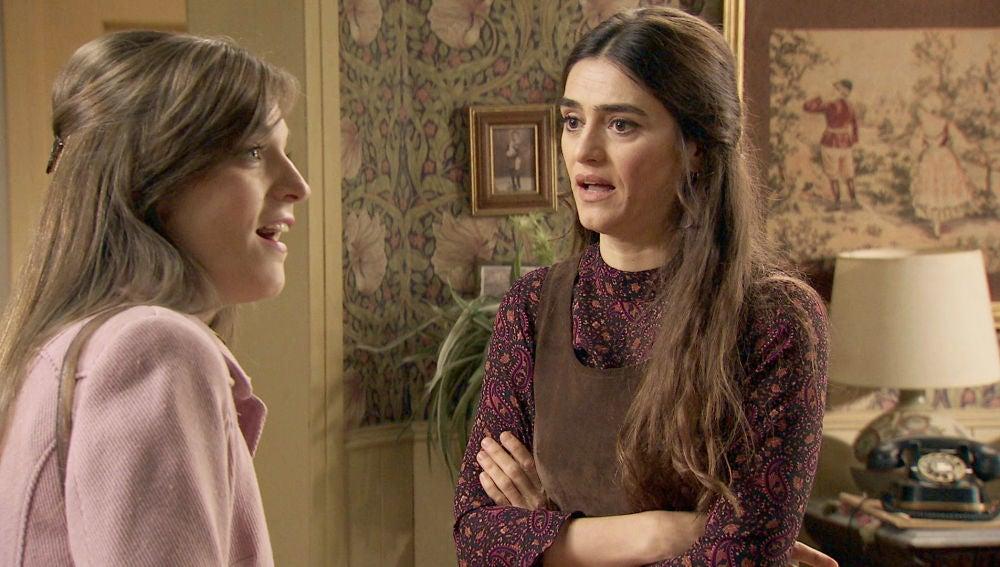 Vicky y Susana, una guerra que pone fin a una bonita amistad