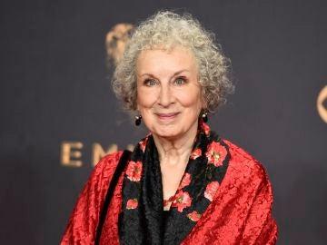 La escritora Margaret Atwood