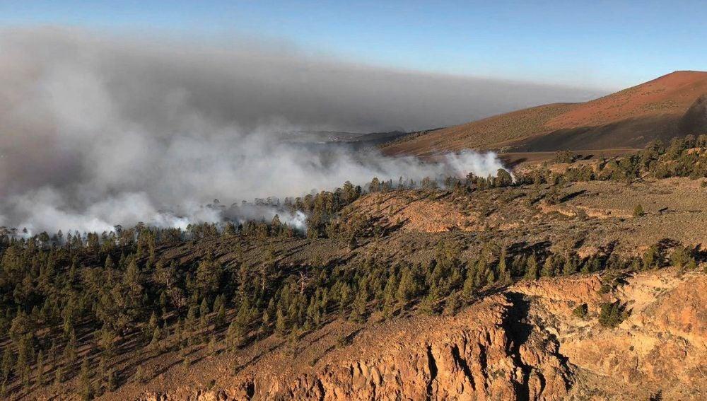 Incendio en Granadilla, Tenerife