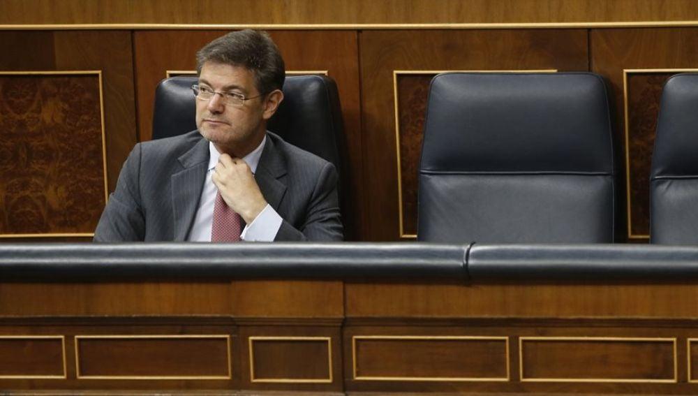 Rafael Catalá en el Congreso de los Diputados