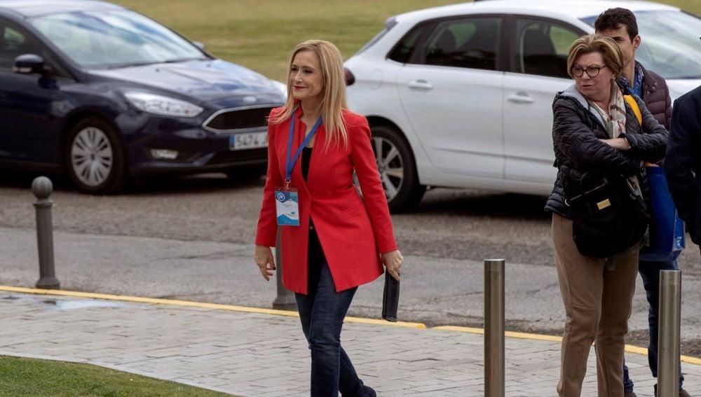 Cristina Cifuentes en la convención nacional del PP en Sevilla