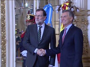 Rajoy y Macri exponen sus reformas como el único camino hacia la prosperidad