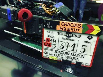 'Cuerpo de Élite' finaliza por todo lo alto el rodaje de su primera temporada