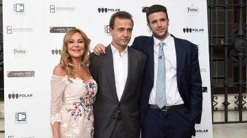 Ana Obregón, Alessandro Lequio y Álex Lequio