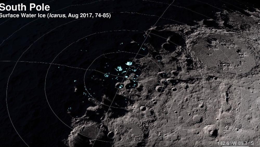 Un tour por la luna gracias a la NASA
