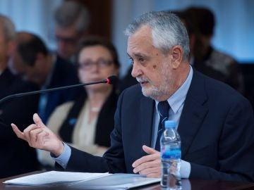 José Antonio Griñán en el juicio de los ERE