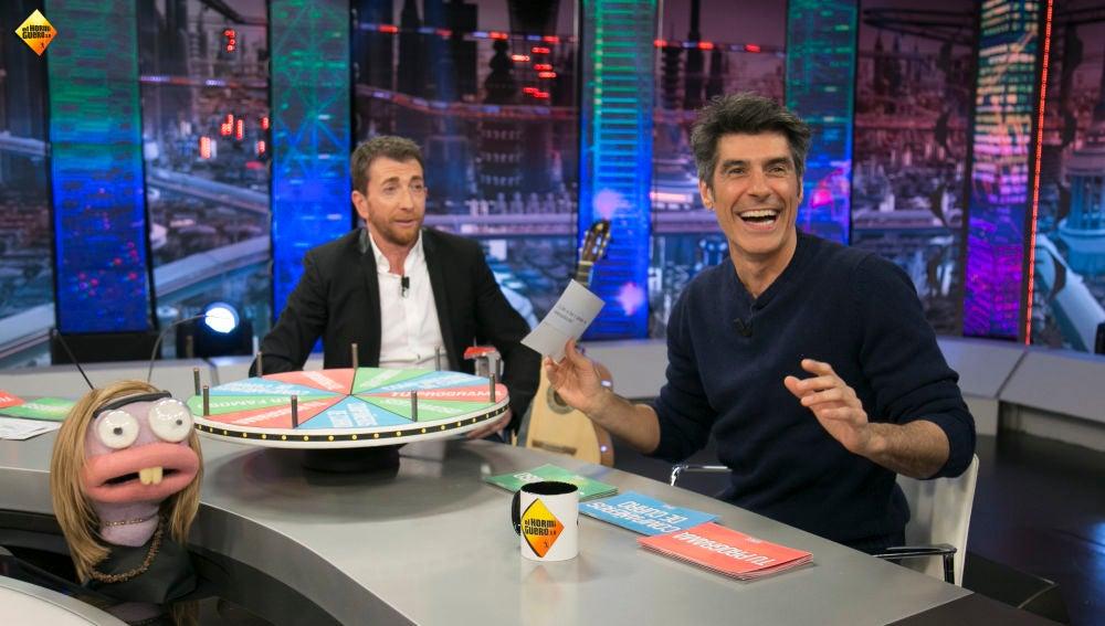 Jorge Fernández pasa por 'La ruleta de 'El Hormiguero 3.0'