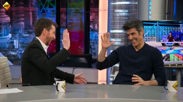 Jorge Fernández celebra el 12 aniversario de 'La ruleta de la suerte' en 'El Hormiguero 3.0'