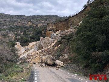 Deslizamiento de rocas