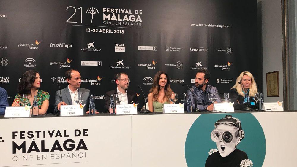 Presentación de 'Jefe' en el Festival de Málaga