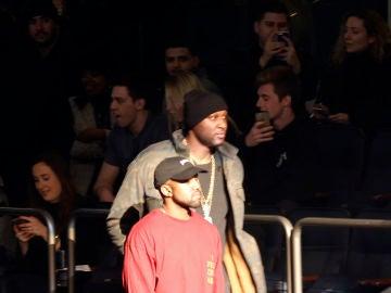 Kanye West y Lamar Odom