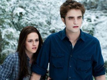 Bella y Edward en La saga Crepúsculo - Amanecer