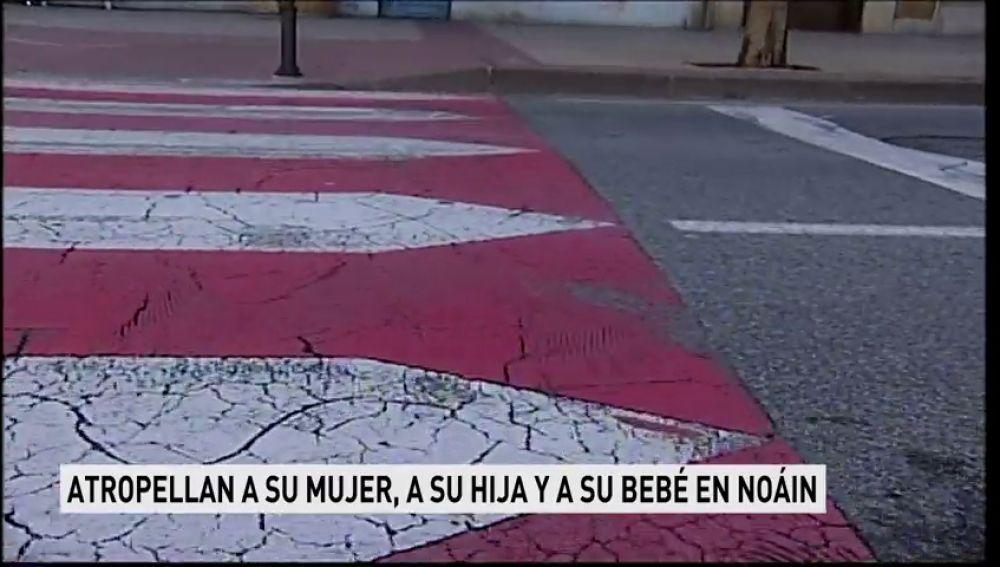 Heridos grave un bebé y una niña tras haber sido atropellados en Noáin (Pamplona)