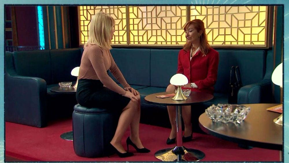 """Charo se disculpa con Isabel: """"No piense que soy una mala influencia para Belén"""""""