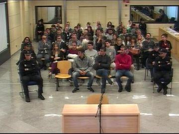 Los guardias civiles y sus parejas agredidas en Alsasua declaran hoy en la segunda sesión del juicio
