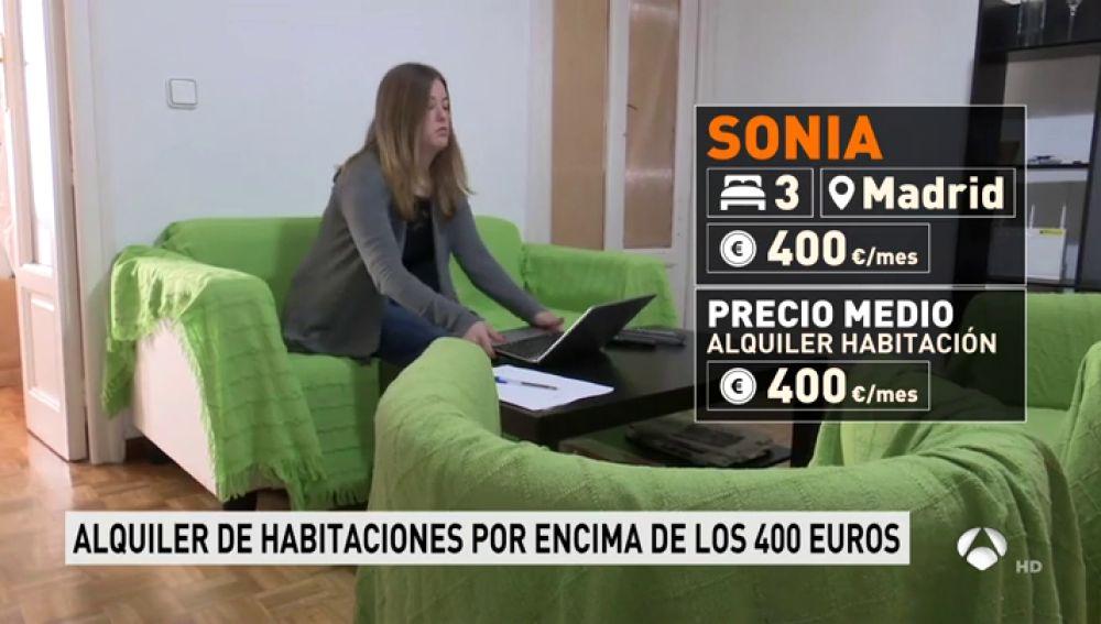 Antena 3 tv el precio del alquiler de habitaciones for Viviendas compartidas en madrid
