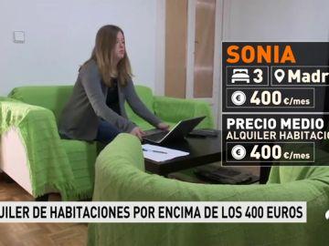 El precio del alquiler de habitaciones compartidas sube un 8% en España
