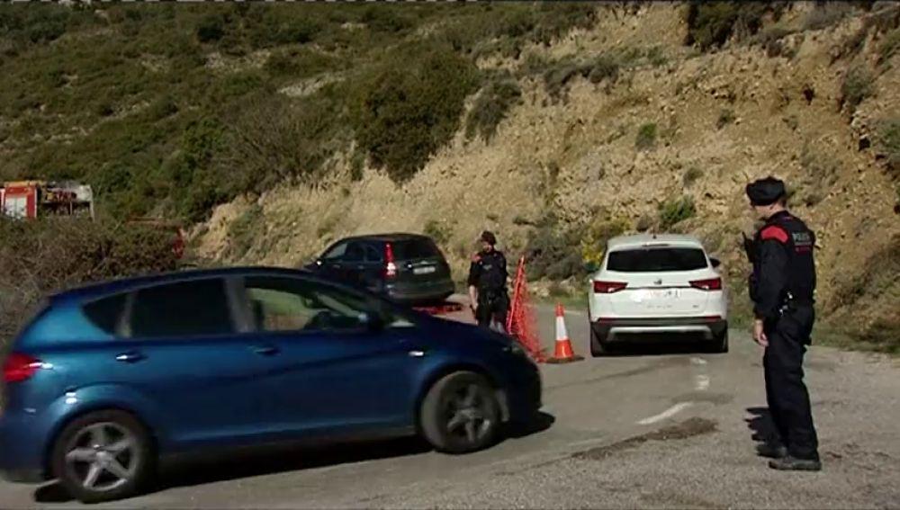 Retoman el rescate de las víctimas atrapadas en un desprendimiento en Lleida