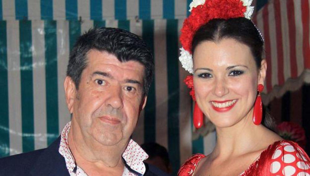 Gil Salgado junto a su expareja, María Jesús Ruiz