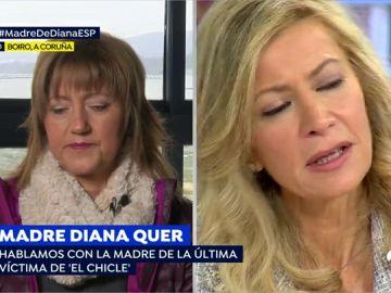 """La madre de la otra víctima de 'el chicle', a la madre de Diana Quer: """"Hay jueces que se pasan las leyes por el forro"""""""