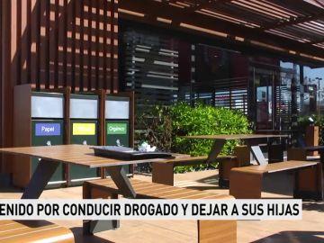 Detienen a un hombre en Granada por conducir drogado y dejar a sus hijas