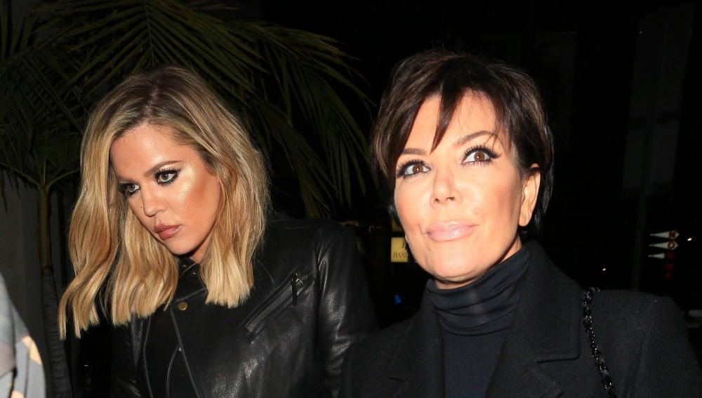 Khloé Kardashian y Kris Jenner
