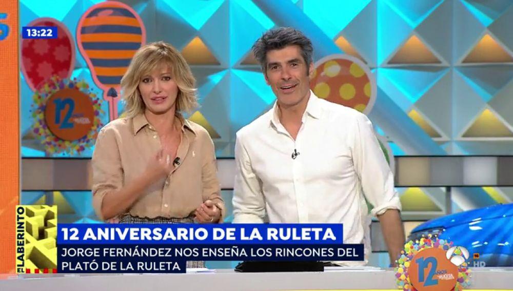 Antena 3 tv susanna griso se cuela en el plat de 39 la for Antena 3 espejo publico hoy