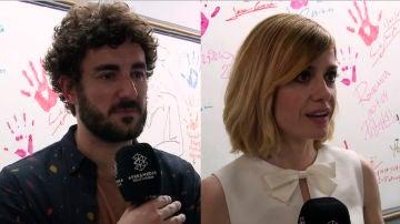 Miki Esparbé y Alexandra Jiménez