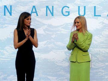 La Reina Letizia junto a la presidenta de la Comunidad de Madrid, Cristina Cifuentes