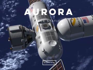 Hotel espacial Estación Aurora