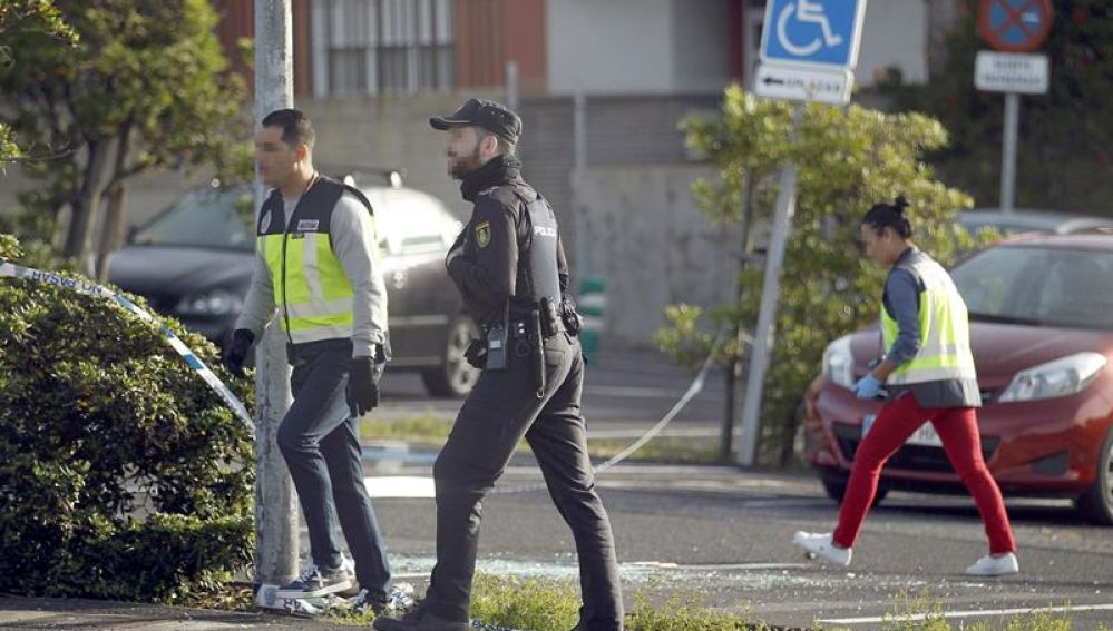 Lugar donde murió un hombre acribillado en Tenerife