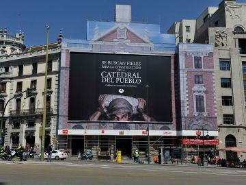 Únete la construcción de una nueva catedral en el centro de Madrid y conviértete en uno de los fieles a 'La Catedral del Mar'