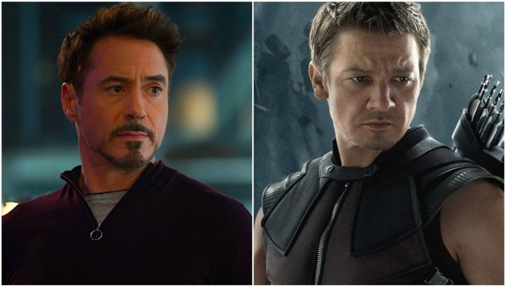 Robert Downey Jr. y Jeremy Renner lucharán juntos contra Thanos en 'Vengadores: Infinity War'