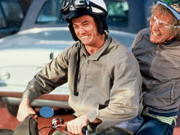 Jim Carrey y Jeff Daniels en 'Dos tontos muy tontos'