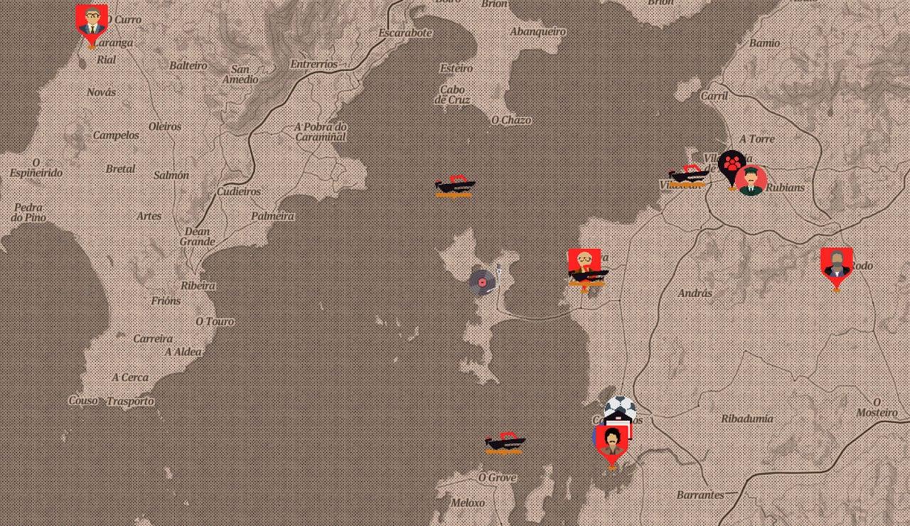 mapa de Fariña