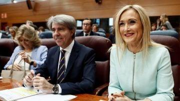 Cristina Cifuentes en la Asamblea de la Comunidad de Madrid