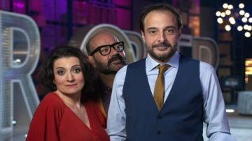 Muy pronto, 'La noche de Rober' acompañado por Silvia Abril y José Corbacho