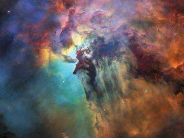 Foto facilitada por la Agencia Espacial Europea (ESA), de una vista de la nebulosa de la Laguna