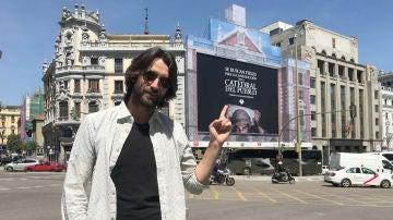 Aitor Luna nos habla del próximo estreno de 'La Catedral del Mar'