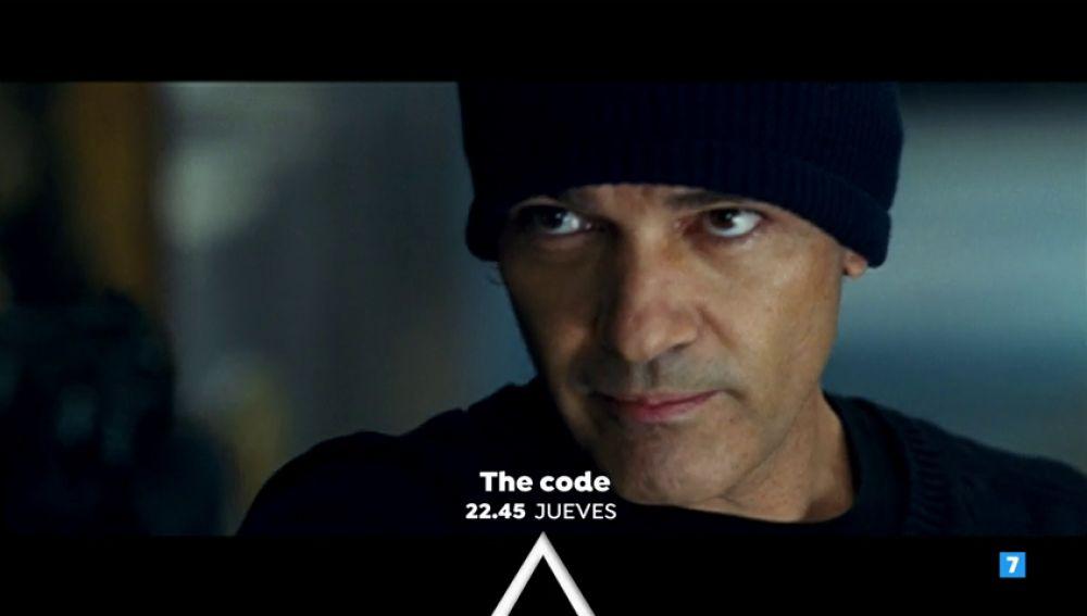 Antonio Banderas y Morgan Freeman protagonizan la película 'The code'