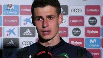 """Kepa: """"Tenía ganas de jugar en el Bernabéu"""""""