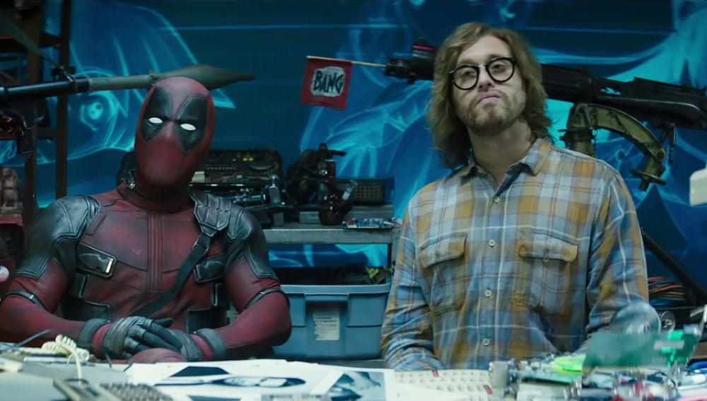 Ryan Reynolds y TJ Miller en 'Deadpool 2'