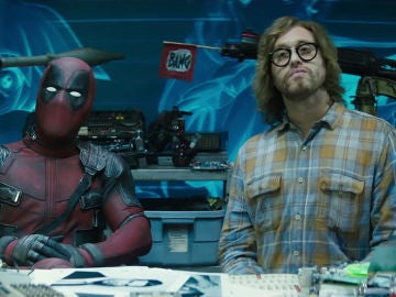 Ryan Reynolds y TJ Miller en 'Deadpool 2'