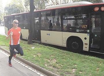 David March, el primer español en ganar a un autobús que pretende triunfar en 'Ninja Warrior'