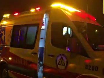 Un taxi arrolla mortalmente a un hombre cuando cruzaba la vía de circunvalación M-40