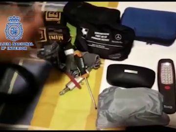 Cae un grupo que robaba todoterrenos en un minuto y se los vendía a narcos