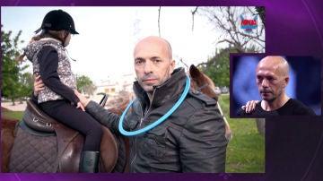 El padre coraje Fernando Bosch, se emociona con su presentación en 'Ninja Warrior'