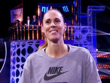 Amaya Valdemoro cambia el baloncesto por el complicado circuito de 'Ninja Warrior'