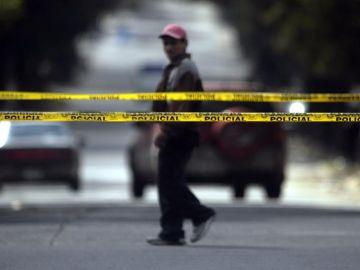 Imagen de archivo de un cordón policial en EEUU
